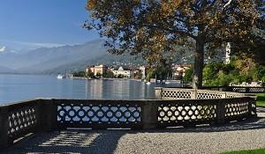 Lago Maggiore Lake Maggiore Seepromenade lungolago Maggioni herbst autunno autumn press release